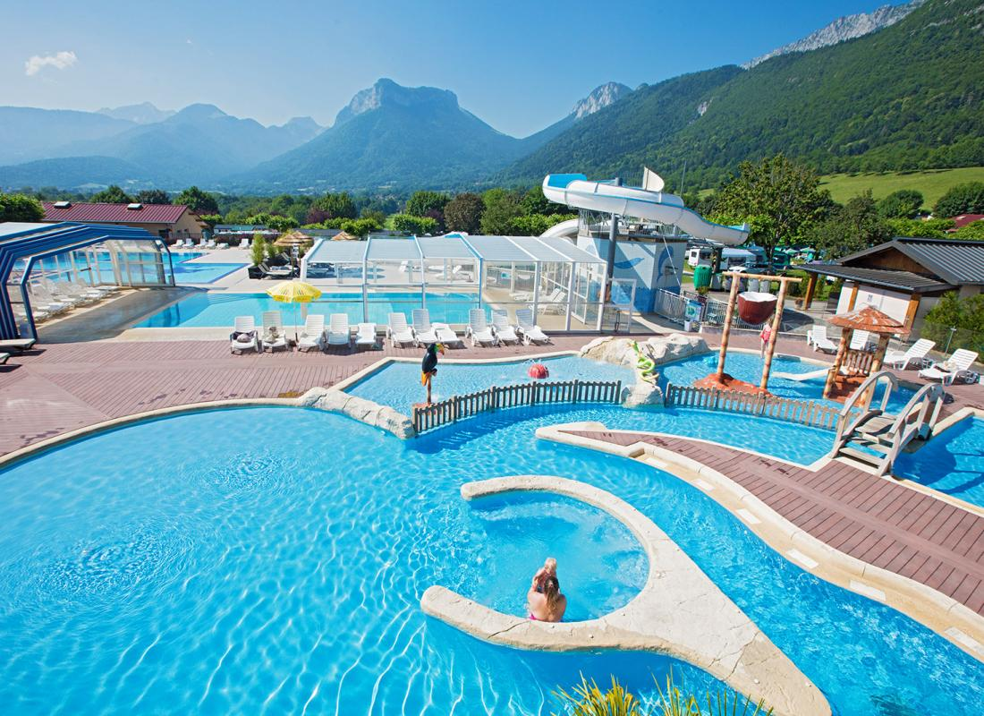 Camping Holidays In Summer In Annecy Lake Camping Ideal In Lathuile