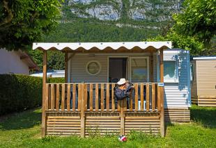 Astria mobile home for rent at Lake Annecy