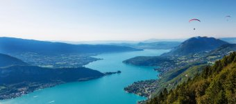 To see around Lake Annecy